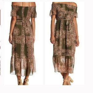 NWT Nanette Lepore Olive Grove Print Dress, Size 8